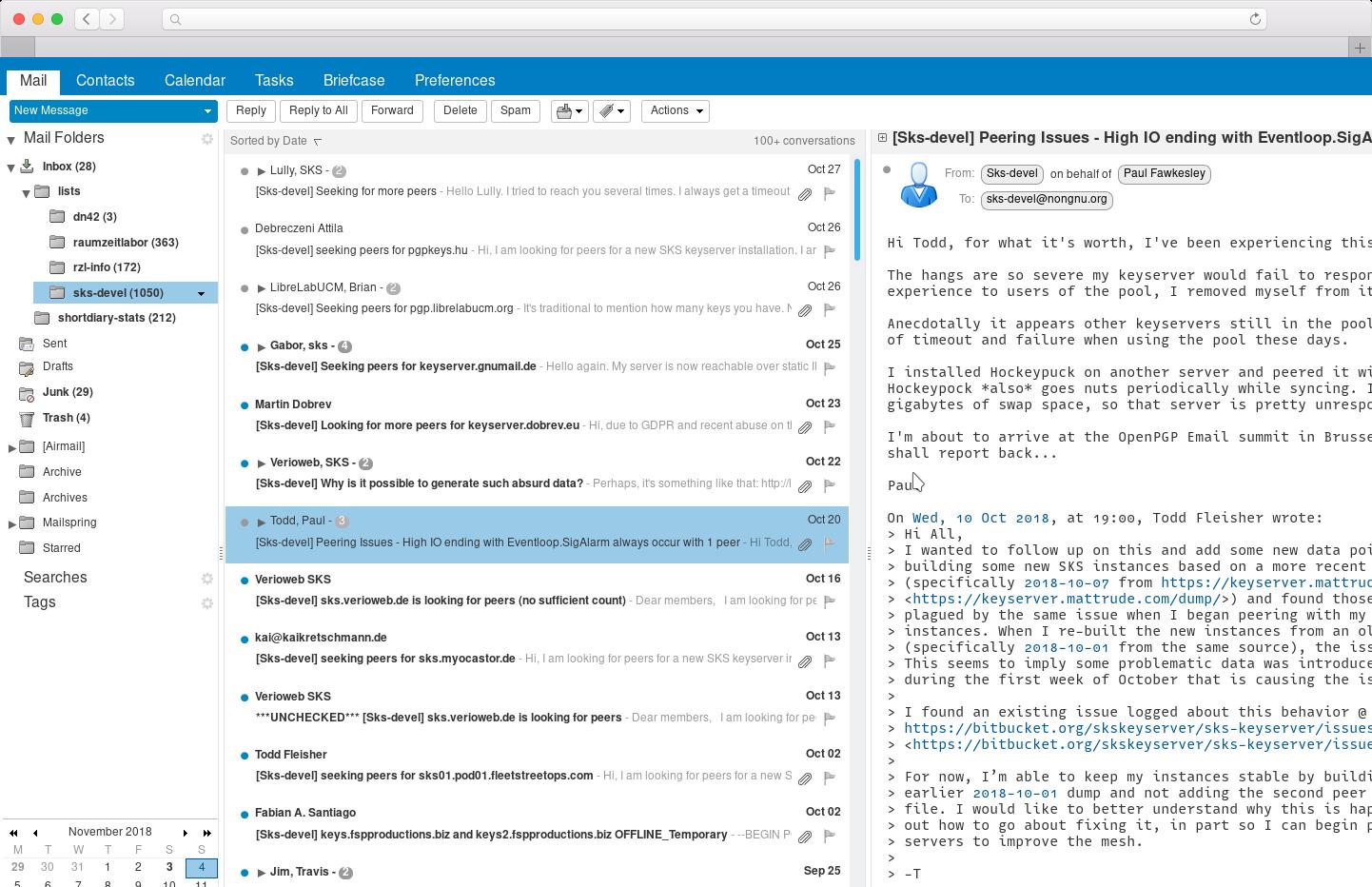 Email Hosting screenshot